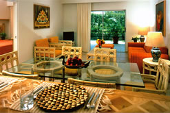 Ambiance Villas Dining Area