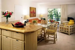<p>Ambiance Villas Dining Area & Living </p>