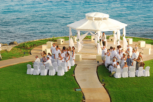 Dreams Cancun Wedding Gazebo