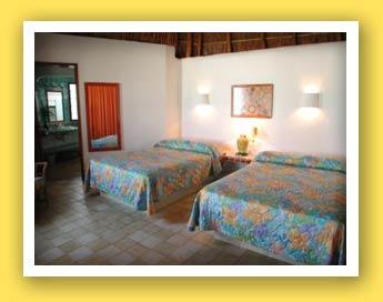 Las Palapas Beach Front Room
