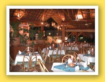 Las Palapas Restaurant Interior