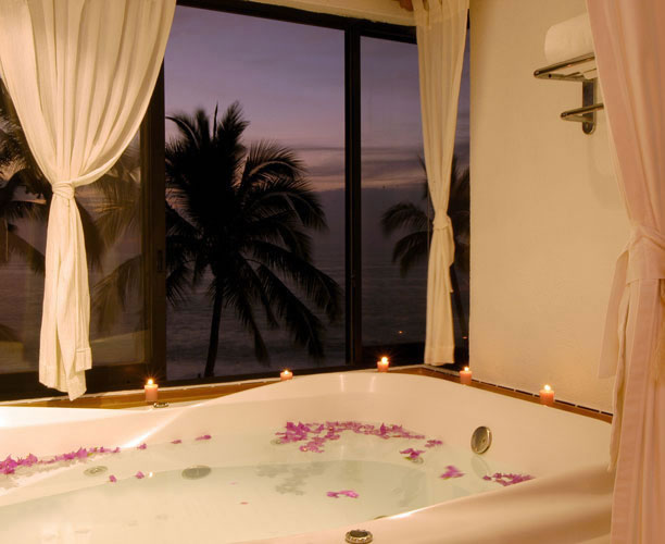 Room Bath with view